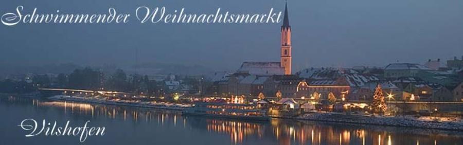 Schwimmender Weihnachtsmarkt.Ferienwohnung Hubner Neukirchen Romantische